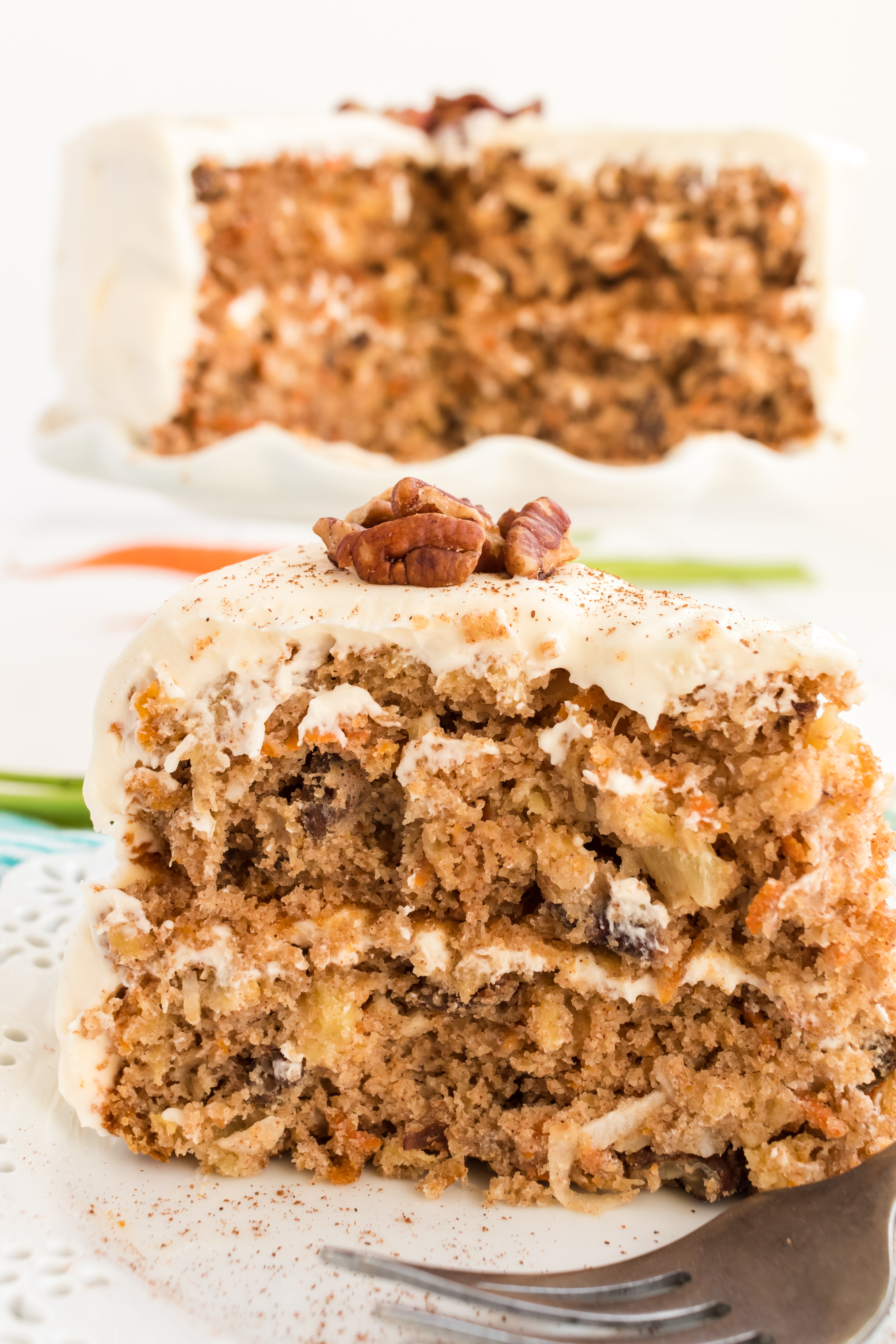 carrot cake with cake mix