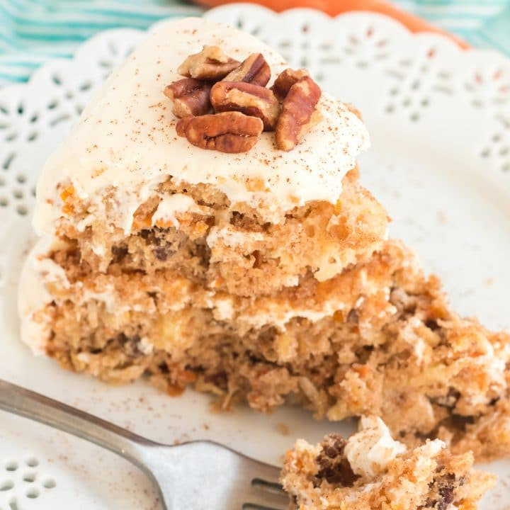 Cheater Carrot Cake Recipe