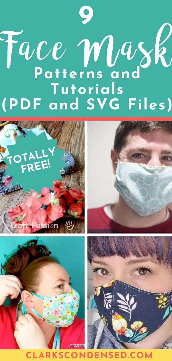 9 Free Face Mask Patterns and Tutorials (And Where to Donate)