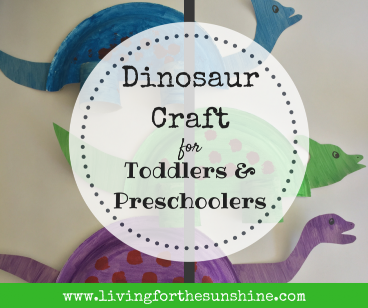 Adorable Dinosaur Paper Plate Craft for Toddlers
