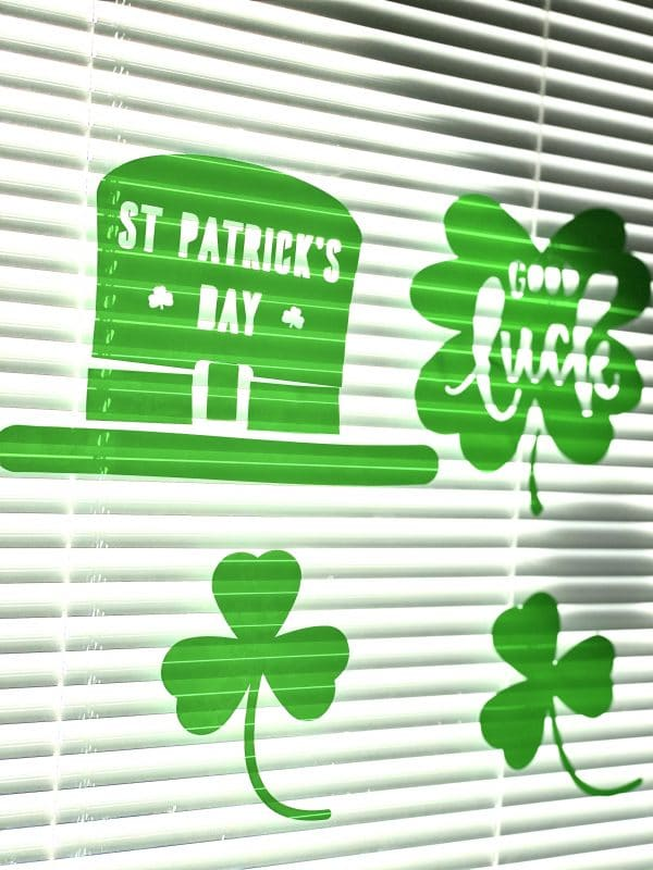 St. Patrick's Day Window Cling