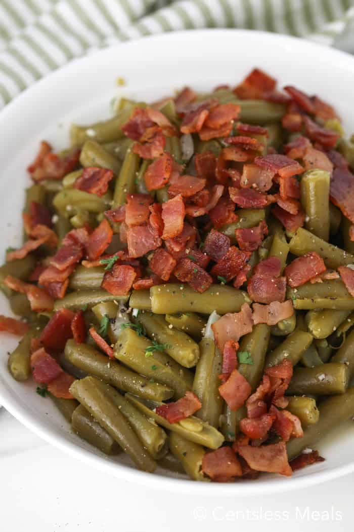 Texas Roadhouse Green Beans Copycat - CentsLess Meals