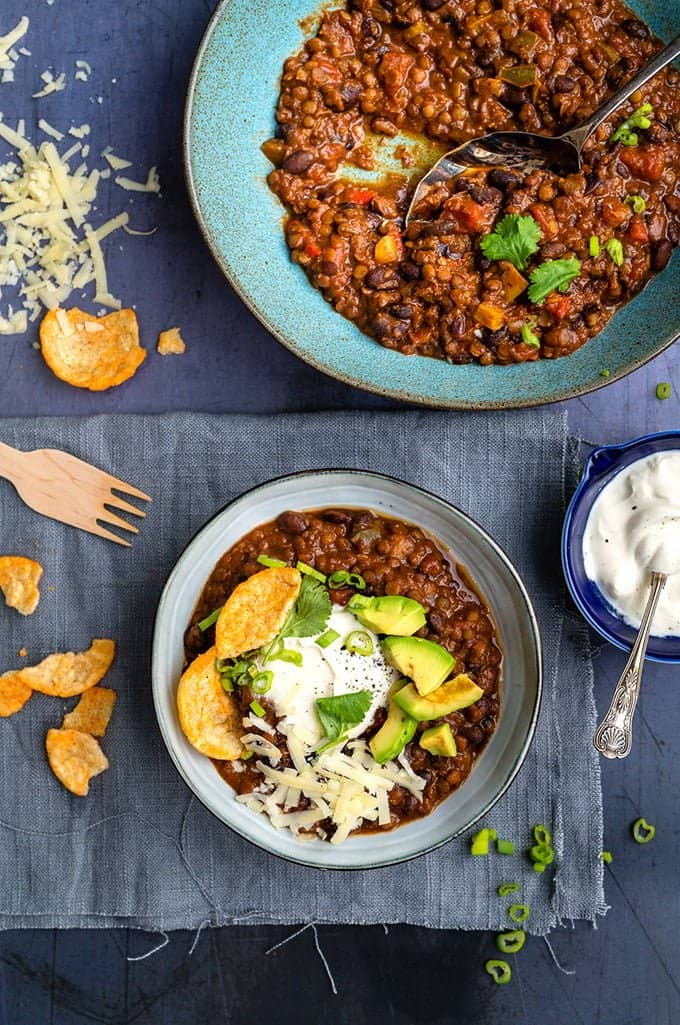 Vegan Chili | Slimming World Friendly