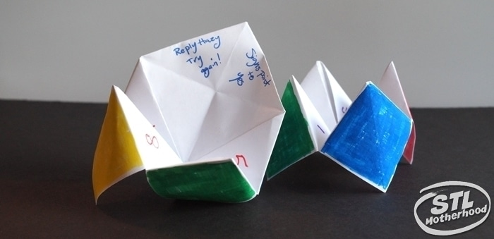 How to Fold a Fortune Teller like a 90's Kid