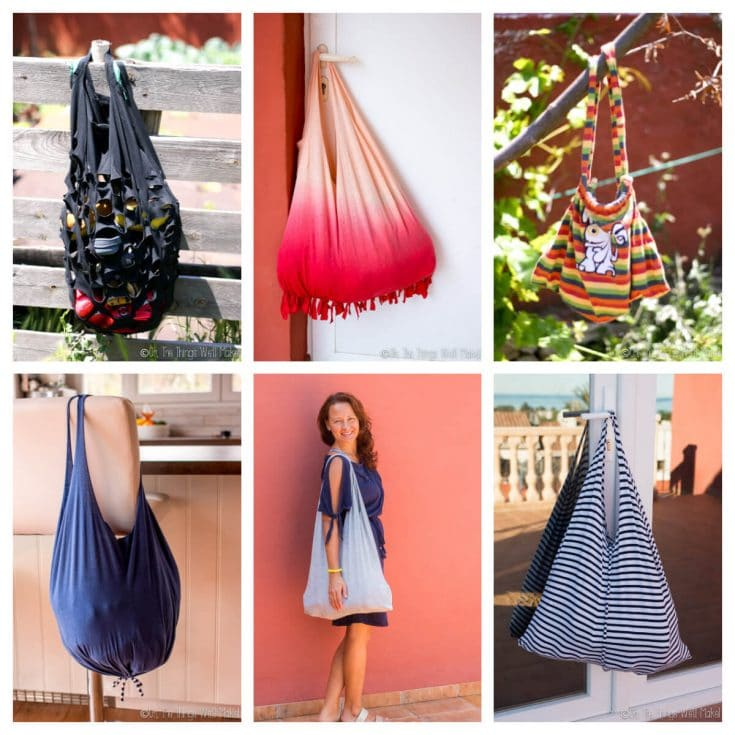 How to Make a T-shirt Bag: 8 Ways to Make a Bag from a Shirt