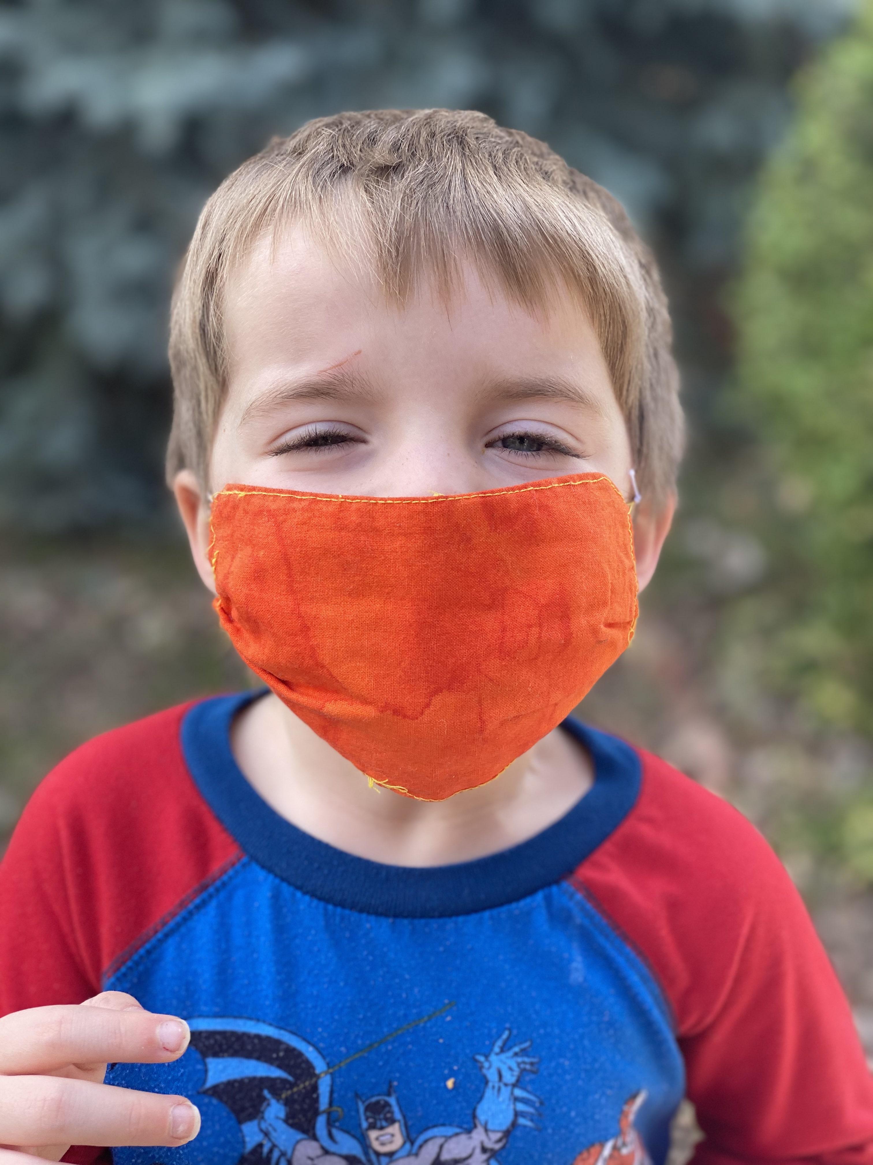 DIY Face Mask for Kids Pattern