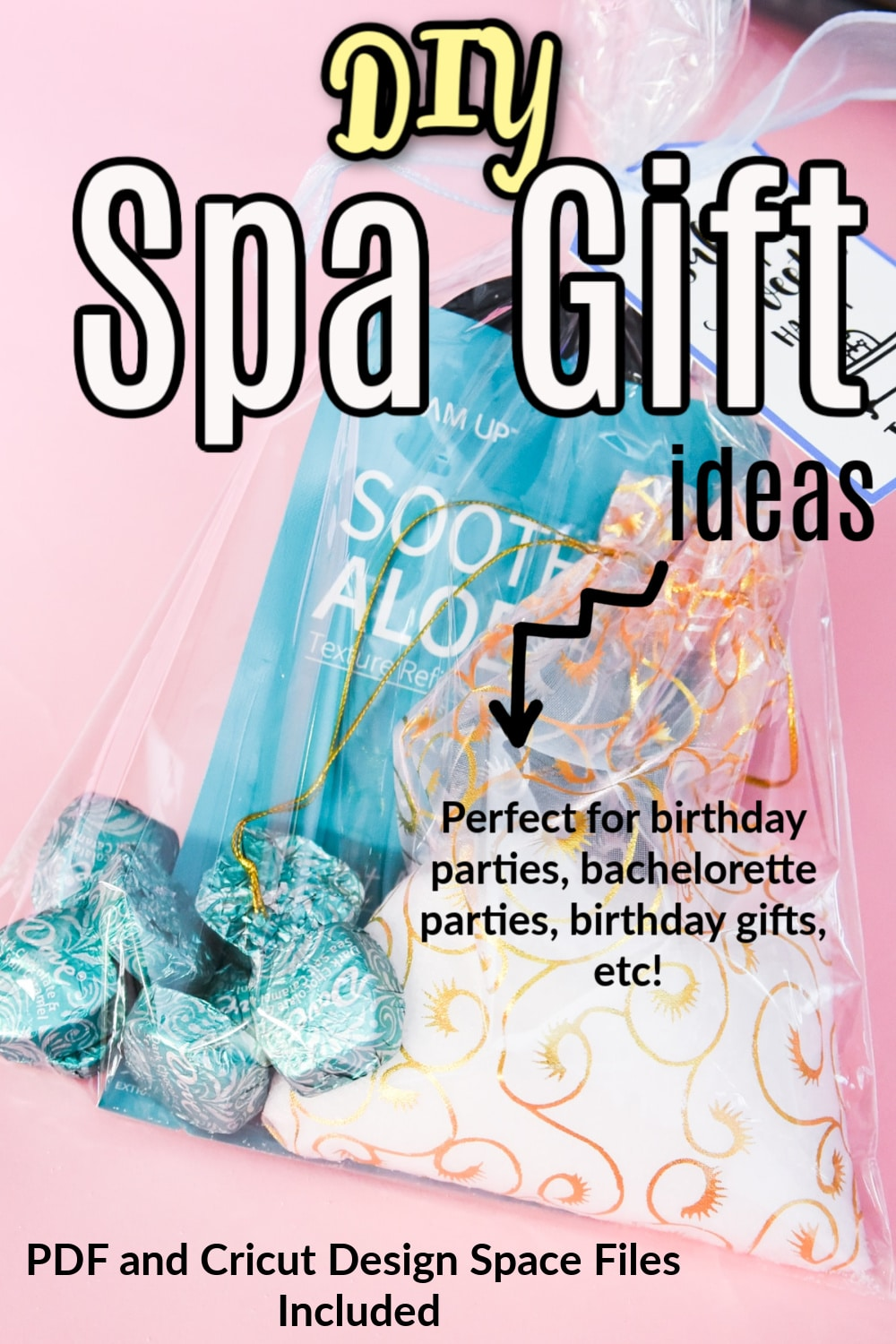 Spa Gift ideas - great for an easy birthday gift or as a party favor! via @clarkscondensed