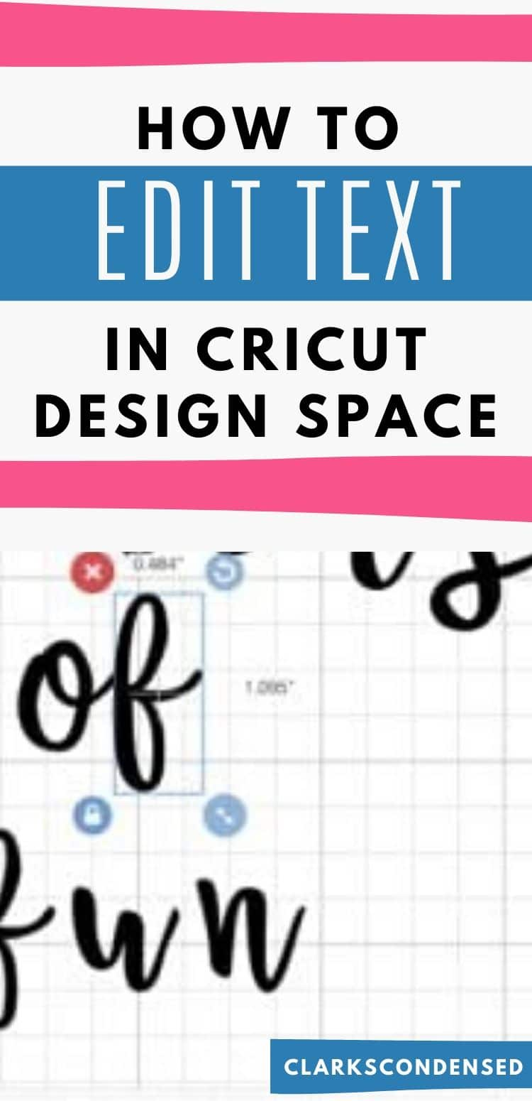 Learn how to easily manipulate and edit text in Cricut Design Space - and learn how to make a fun summer themed basket for a water balloon fight! via @clarkscondensed