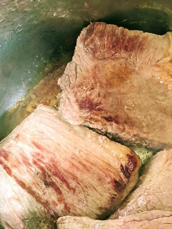 seared roast beef in instant pot