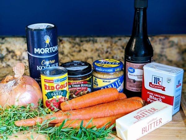 ingredients for instant pot roast beef