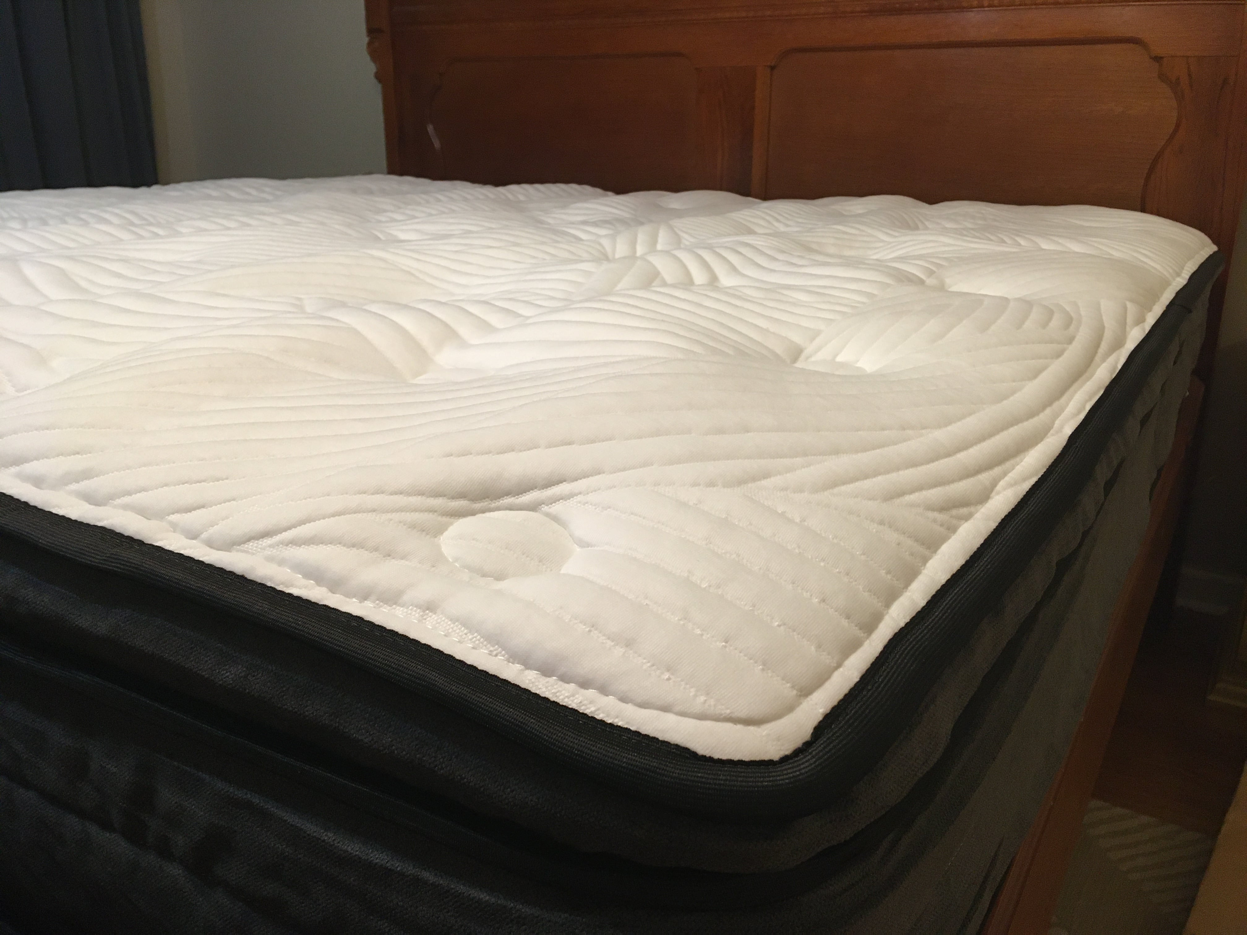 Sweetnight mattress in bed frame
