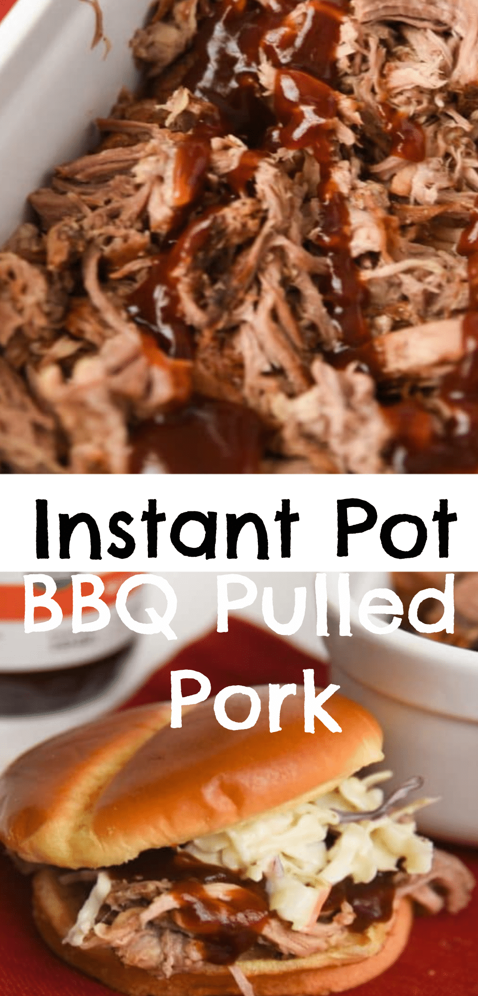 Making BBQ Pulled Pork has never been easier. Make Instant Pot Pulled Pork and be amazed at how tender and delicious it comes out. via @clarkscondensed