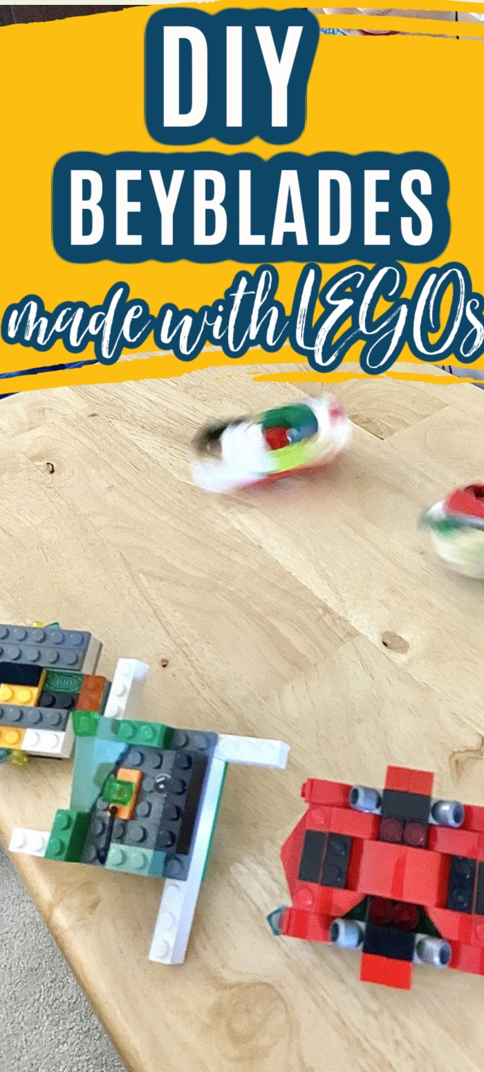 Make your own DIY Beyblade using LEGOs. This is an easy project for any LEGO or Beyblade lover that will provide hours of fun and creativity. via @clarkscondensed