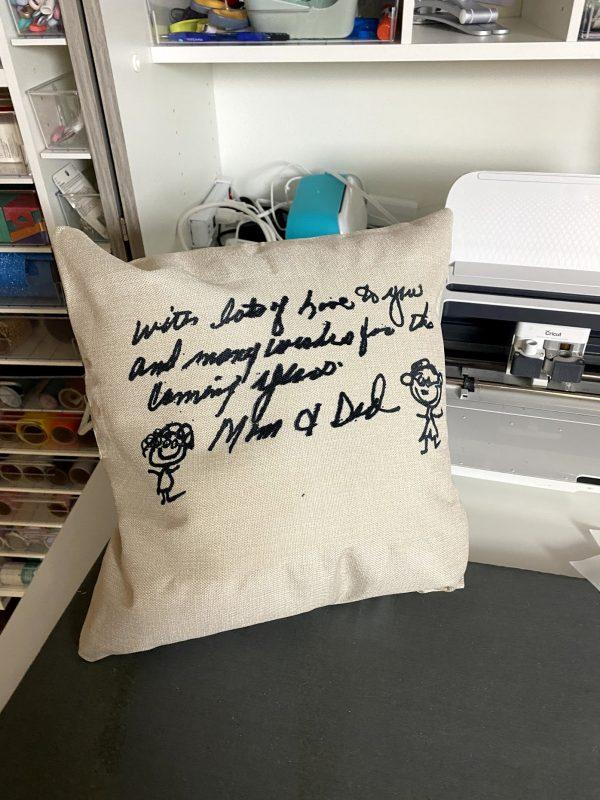 grandpa and grandma pillow