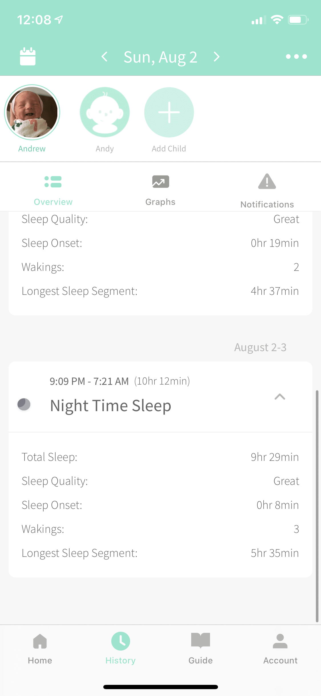 dreamland sleep results