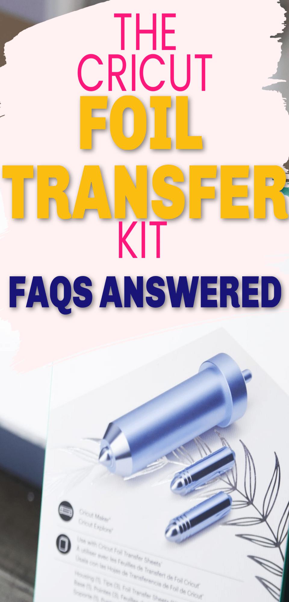 Cricut Foil Transfer Tool: FAQs Answered! via @clarkscondensed