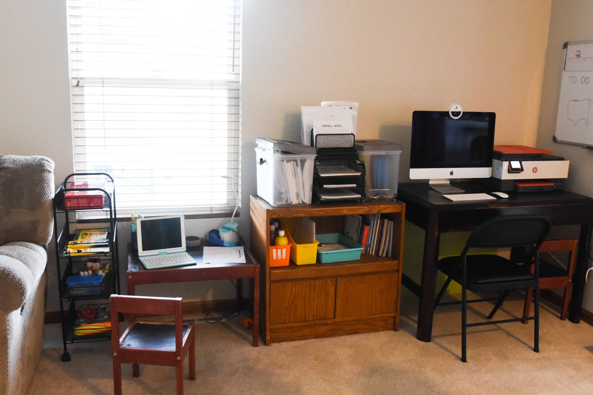homeschool setup