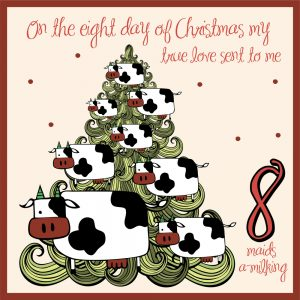 eighth day of christmas ideas