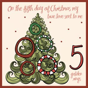 fifth day of christmas ideas