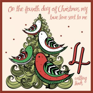 fourth day of christmas ideas