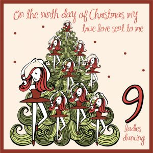 ninth day of christmas ideas