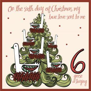 sixth day of christmas ideas