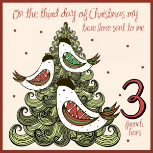 third day of christmas ideas