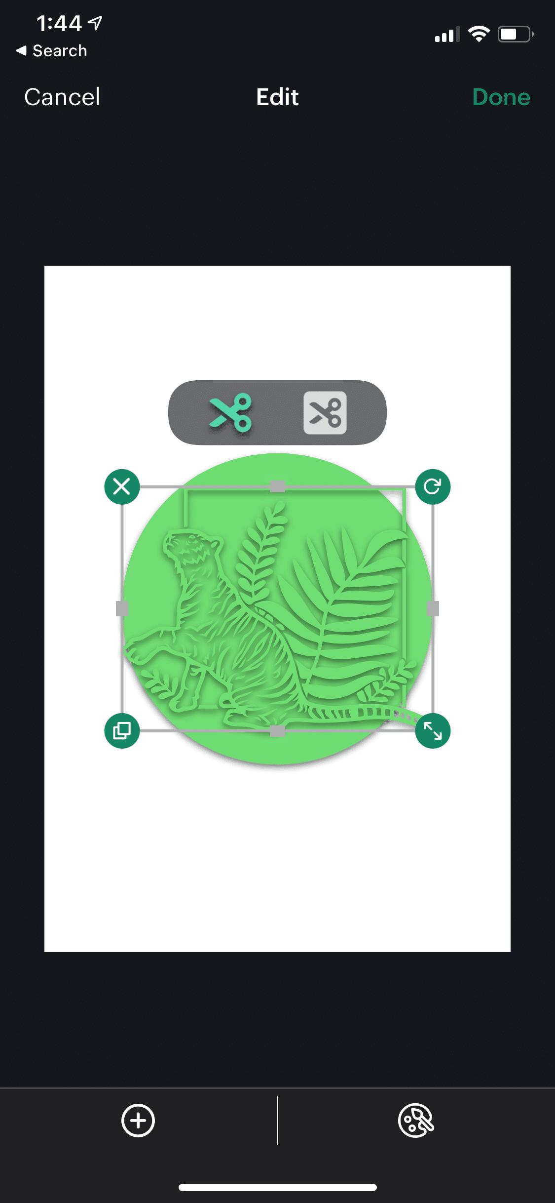 making your own design in joy app