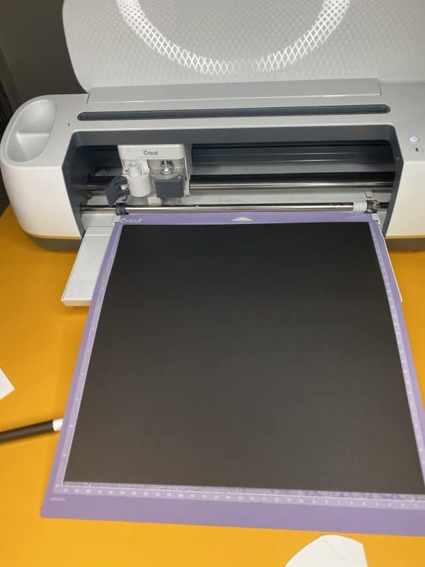 cricut maker cutting kraft board