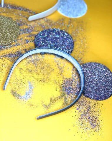 glitter mouse ears