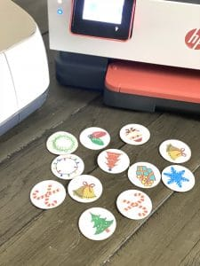 cricut matching game