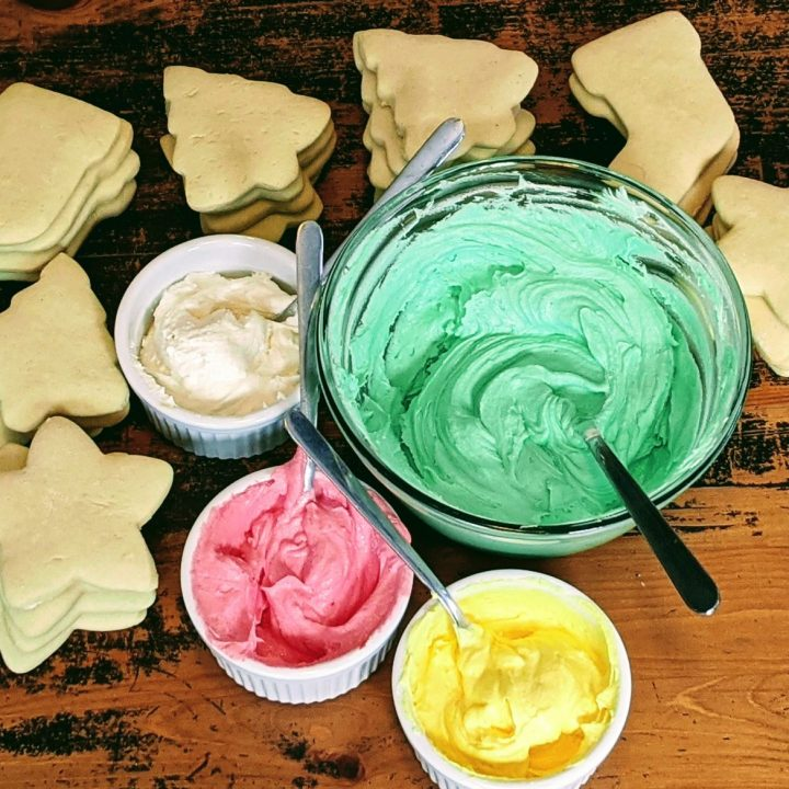 Sugar Cookie Buttercream Frosting
