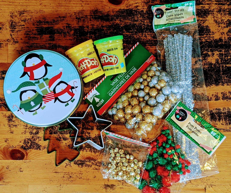 materials for child's neighbor gift