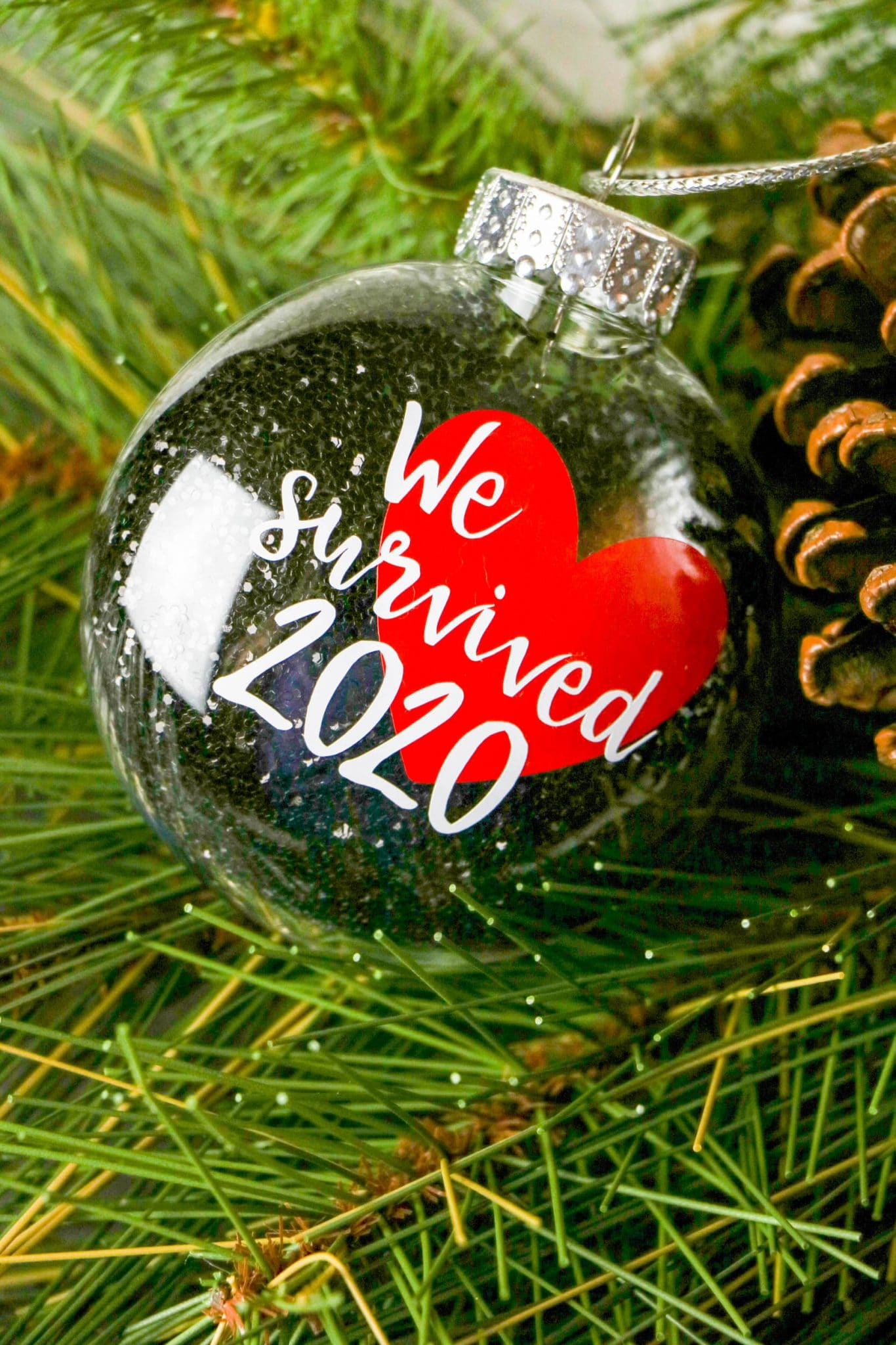 we survived 2020 ornament