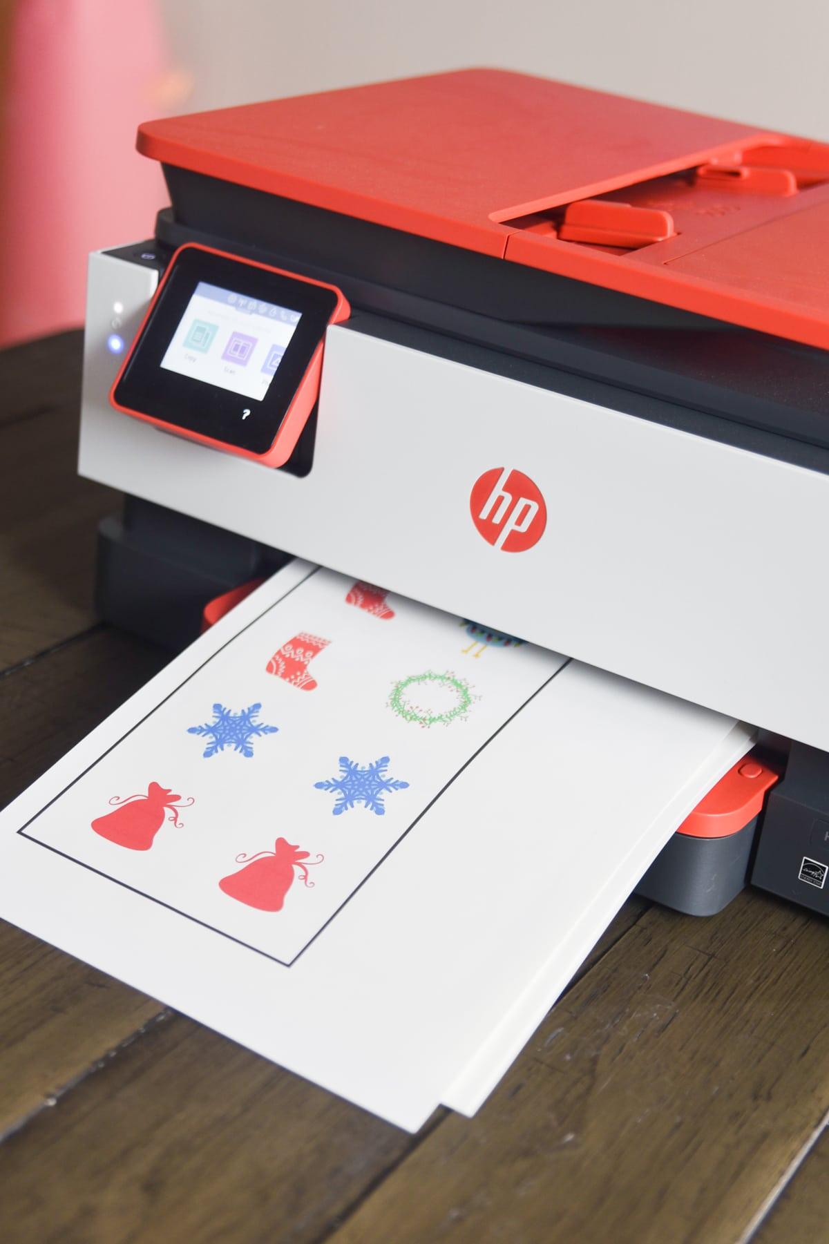 hp printer for cricut print and cut