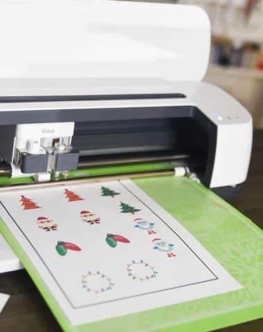 cricut print and cut with cricut maker