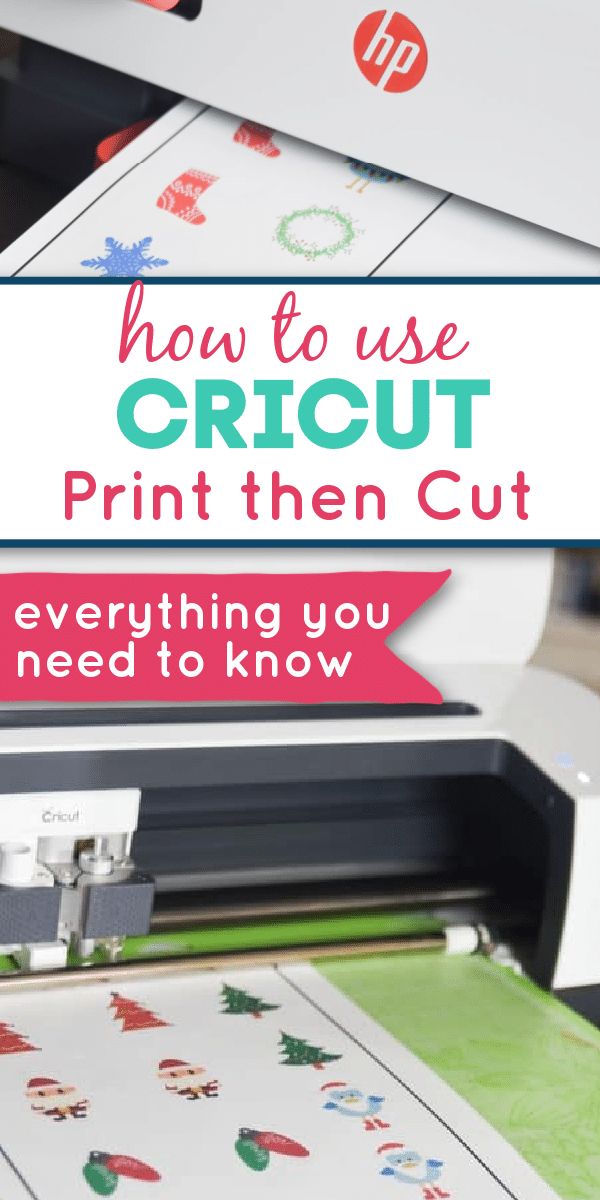 Print then cut is one of Cricut's best features - if you are new to print and cut or are just looking for some troubleshooting advice, this post will cover all that and more! via @clarkscondensed