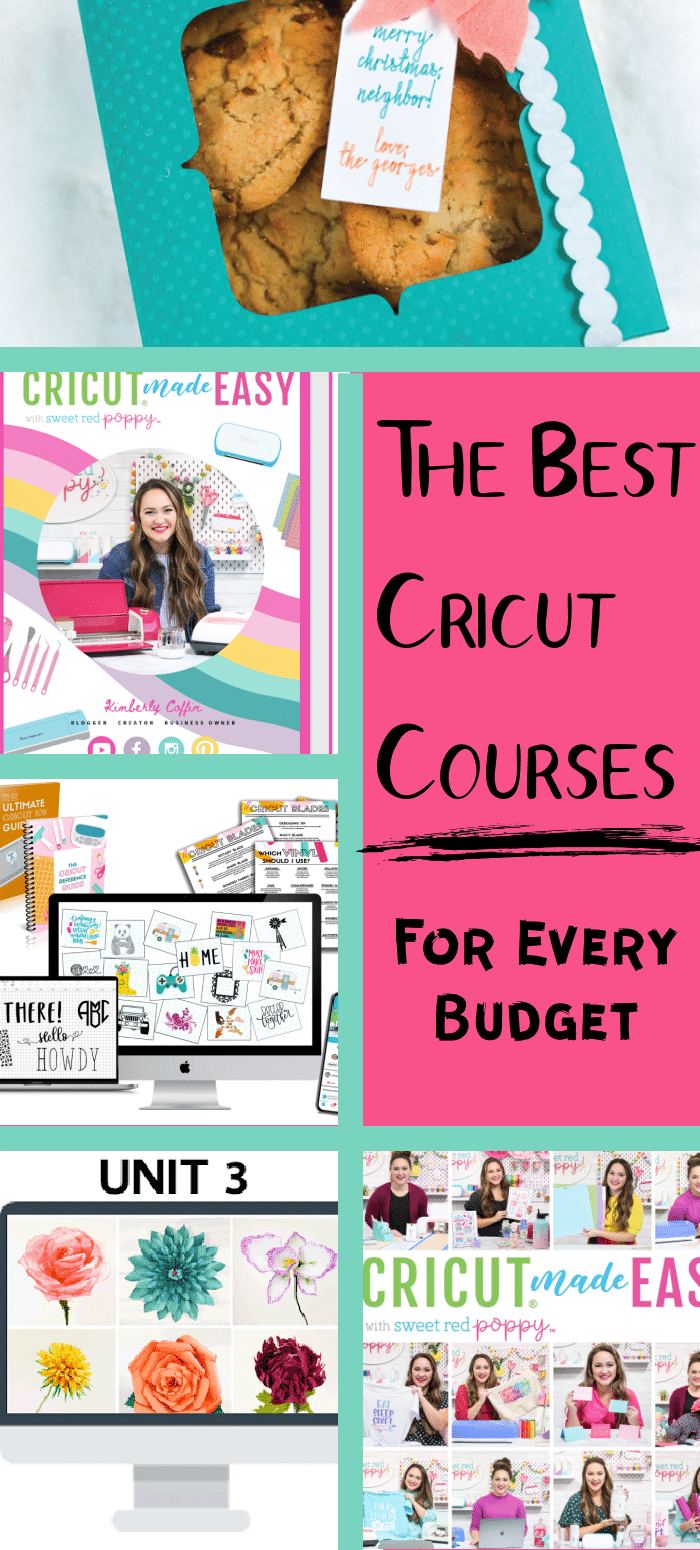 Learn how to use your Cricut with these amazing courses. Owning a Cricut machine doesn't have to be intimating! Use these online Cricut courses to learn everything you need to know to become a pro! via @clarkscondensed