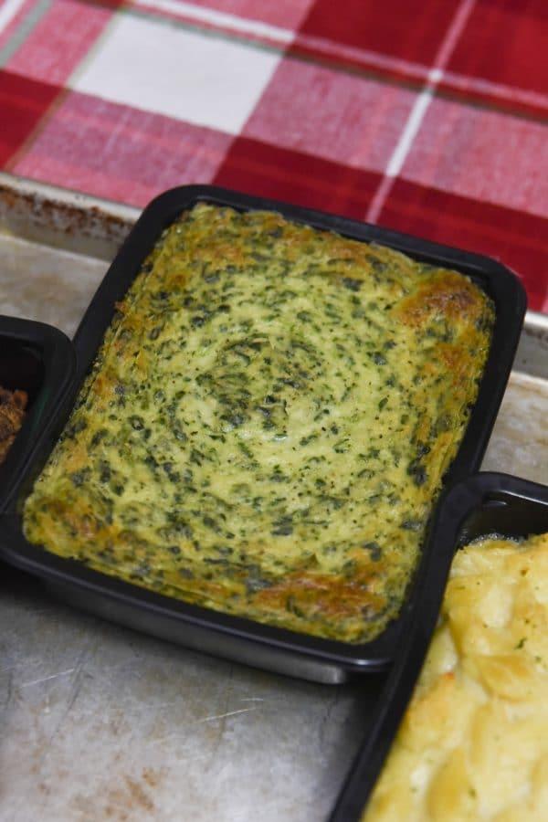 rastelli's creamed spinach