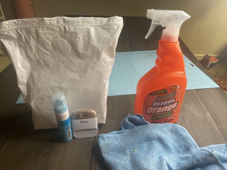 cricut mat cleaning supplies